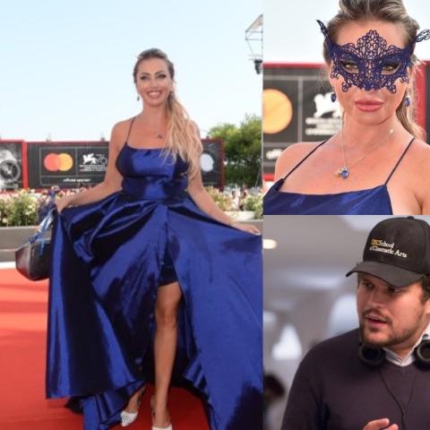 Anna Brancati, L' attrice  presente al 'Pulcinella FilmFestival'